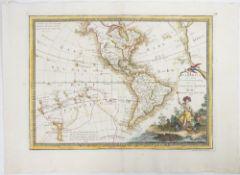 CASSINI, Giovanni Maria (1745-1824). L' America. Secondo.