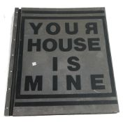 Your House is Mine, edited by Andrew Castrucci & Nadia Coen.