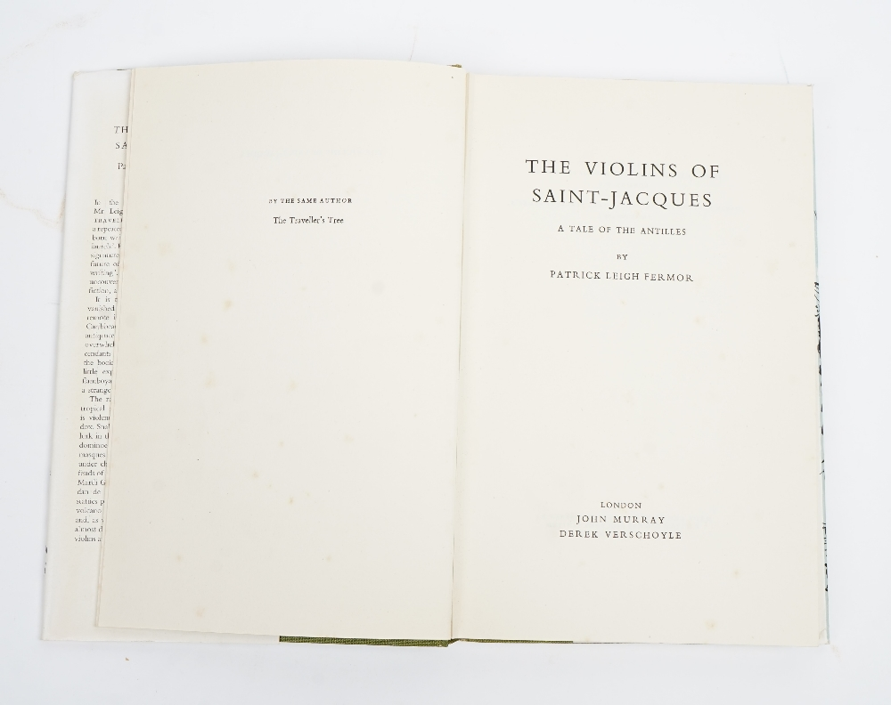 LEIGH FERMOR, Patrick (1915-2011). The Violins of Saint Jacques. A Tale of the Antilles. - Image 3 of 3