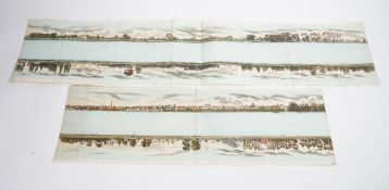 [CLARK, John Heaviside (1770-1863). Panorama of the Thames. London: Samuel Leigh, c. 1824].