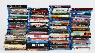 A large collection of DVD's including Blu-ray (qty).