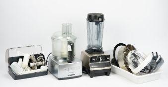 A Vitamix Pro Series 500 blender and a Magimix Cusine 5200 (2).