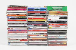 A large collection of compact discs (qty).