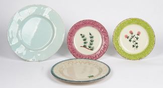 A set of Rice, Italian dessert plates, by Ceramiche Toscane and other ceramics (qty).