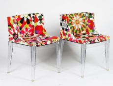A pair of Madamoiselle chairs by Kartell,