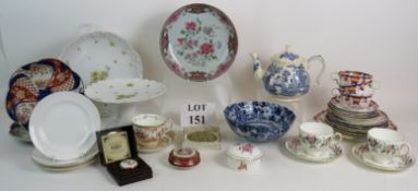 A collection of antique and vintage cera