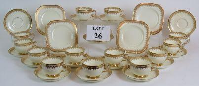 A very elegant Early 20th Century tea se