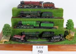 A collection of 15 Hornby 00 Gauge train