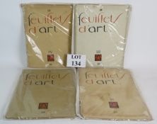 Four volumes of the French Arts Publicat