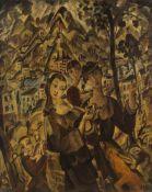 Joseph Kölschbach1892–1947Stadt und Menschen1917/18Öl auf Leinwand67,5 x 54,2 cmAuktion Lempertz,