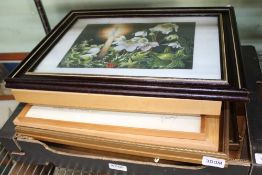 A SELECTION OF DECORATIVE PICTURES & PRINTS to include numerous original artworks