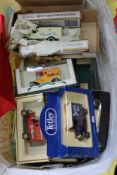 A BAG CONTAINING A GOOD SELECTION OF DIE-CAST VEHICLES