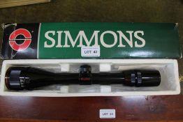 A SIMMONS MOD 21031 DEERFIELD 4 X 12 X 40MM AO SCOPE