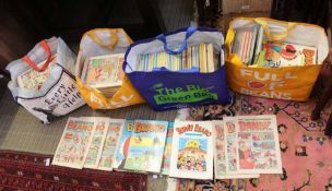 A SELECTION OF DANDY, BEANO, AND SIMILAR COMICS AND ANNUALS
