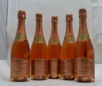 MICHEL REMION A FONTAINE S/Ay Premier Cru Brut Rose, 5 x 75cl bottles
