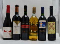 A SELECTION OF SPANISH WINES; Castillo del Ciego, Muriel Rioja, 1 bottle Vermell 2017, Celler del