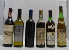 A SELECTION OF ITALIAN WINES; Chianti Classico 1979, Ducal, 1 bottle Monetpuciano d'Abruzzo,