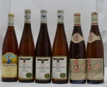 A SELECTION OF GERMAN WINES; Forster Ungeheuer Riesling Spatlese 1983, Reichsrat von Buhl, 2 bottles