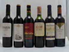 A SELECTION OF SPANISH WINES; Monte Rojo 2012, Ramon Bilbao Rioja, 1 bottle Viñedos Barrihuelo