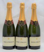 BOLLINGER Special Cuvee Brut, 3 bottles