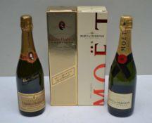 CHARLES HEIDSIECK NV Brut Reserve, 1 bottle MOET ET CHANDON NV Brut Imperial, 1 bottle