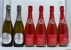 FAUSTINO CAVA Brut Rose, 4 bottles OMNI NV Australian Sparkling, 2 bottles (6)