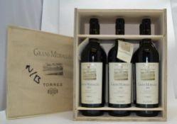 TORRES GRANS MURALLES 2004 Conca de Barbera, 6 bottles in o.w.c.