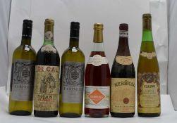 A SELECTION OF ITALIAN WINES; Chianti Classico 1979, Ducal, 1 bottle Nebbiolo 1971, Serio & Battista