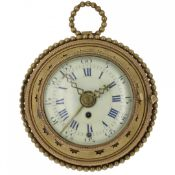 BEDSIDE TIMEPIECE WITH ALARM, CIRCA 1780
