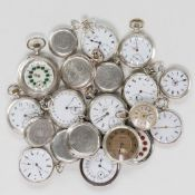 LOT OF 40 POCKET WATCHES