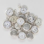LOT OF 14 ENGLISH POCKET WATCHES