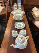 A Ridgway's 'Plymouth' part dinner and tea service