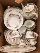 Royal Albert 'Lavender Rose' tea china etc.