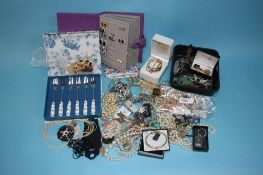 Large quantity of costume and dress jewellery