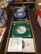 Quantity of Ringtons china in two boxes