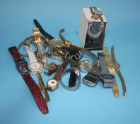 Collection of various wristwatches