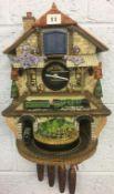 Flying Scotsman' wall clock