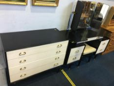 A G Plan Gomme dressing table and chest of drawers