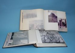Ten photo albums and contents