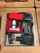 Various cameras, Minolta Gnome etc.