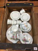 Part Shelley and part Royal Doulton tea sets