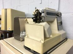 Two sewing machines
