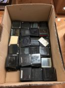 Collection of glass slides. Contactless collection is strictly by appointment on Thursday, Friday