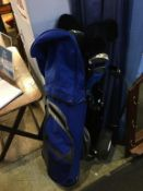 Set of golf clubs. Contactless collection is strictly by appointment on Thursday, Friday and