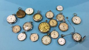 Tin of pocket watches