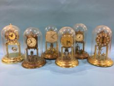 Six Anniversary clocks