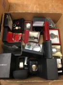 Assorted boxed wristwatches