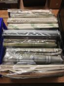 One box of curtains (as new in original packaging)