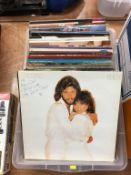 Quantity of LPs, including Wham! etc.