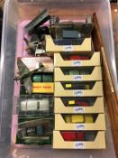 Collection of die cast toys